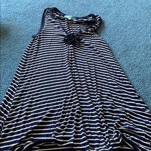 Dresses & Skirts - Tie front tshirt dress